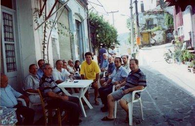 Μποριανοί στο καφενείο