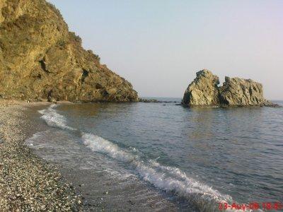 """<div align=""""justify""""> Η καταπληκτική παραλία της Δρώτας<br /> </div>"""